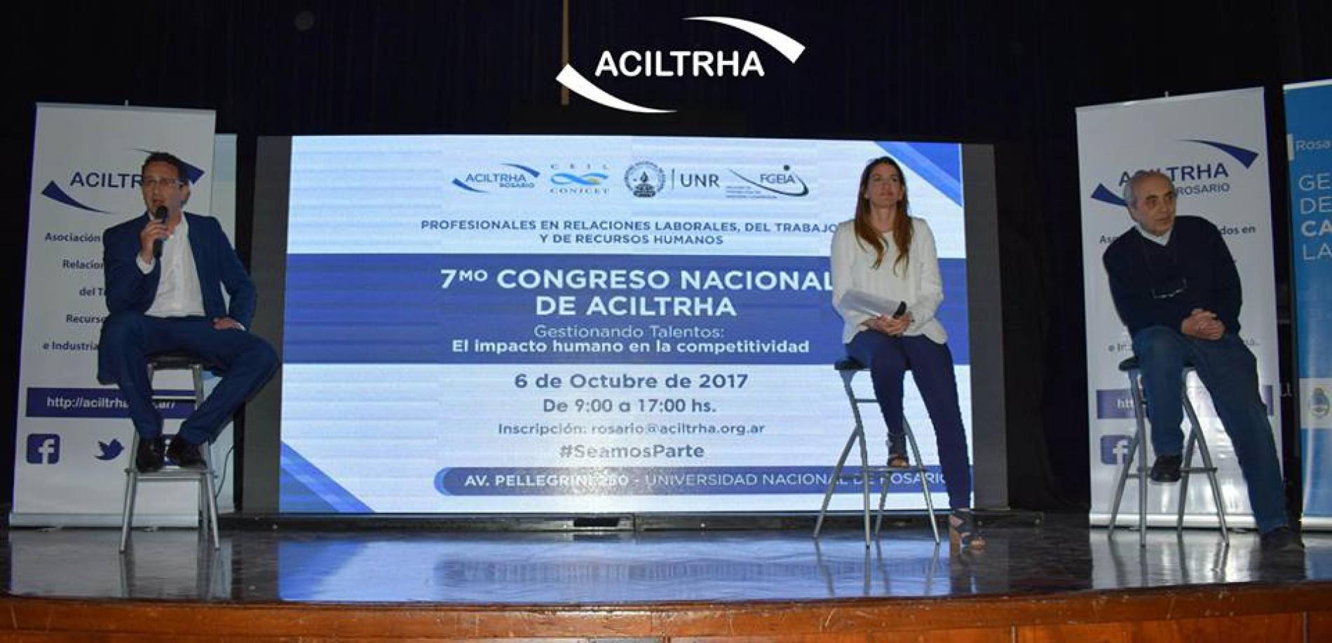 7mo CONGRESO NACIONAL DE ACILTRHA «Gestionando Talentos: el impacto humano en la competitividad» | 2017