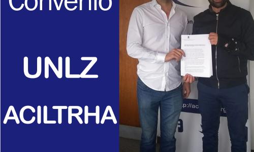 CONVENIO MARCO ACILTRHA Y UNIVERSIDAD NACIONAL DE LOMAS DE ZAMORA (UNLZ)