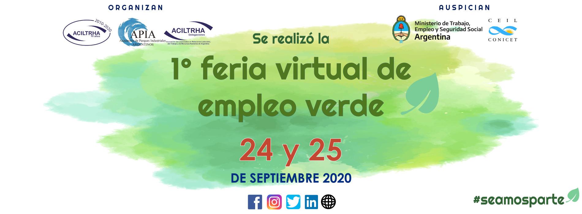 FERIA VIRTUAL 2020