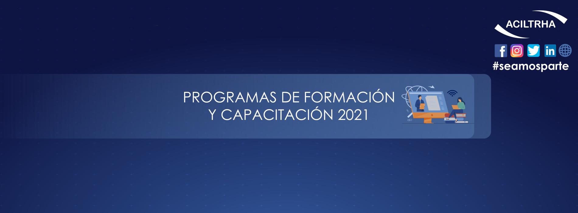 Cursos de Formación Capacitación 2021